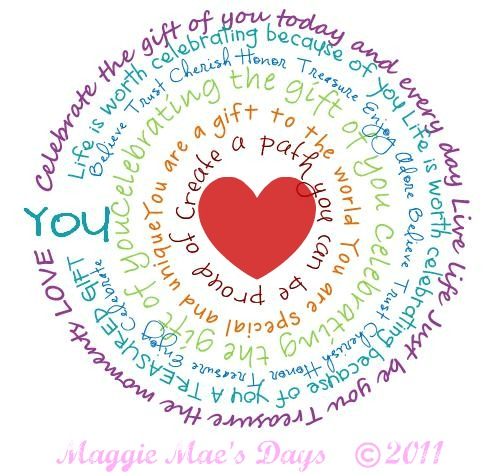 """Celebrating the gift of """"YOU"""" to the world 